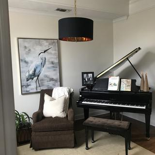 Perfect for updating our music room!