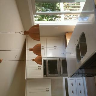 Gorgeous lights in our new kitchen. They match our copper hardware. Great value.