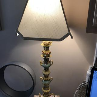 Beautiful lamp!!  This lamp is absolutely beautiful, I couldn't be happier.