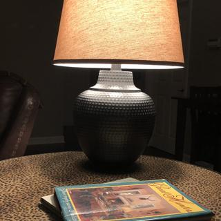 Love our new table lamp!!