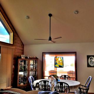 Our new dining room ceiling fan
