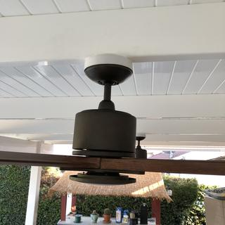 Tricky installation on vertical beam and make it look like it belongs.