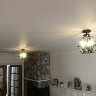 The lights make the room