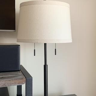 Euro table lamp, works in the space!