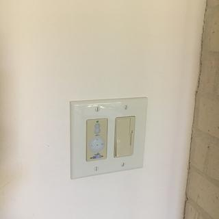Wall controller to left in pic