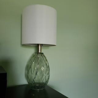 I love these lamps, they are beautiful and really add a lot to our room.