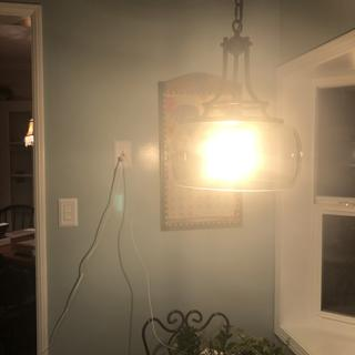 Beautiful kitchen lamp