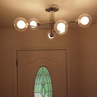 Quoizel Spellbound 6 Light Sputnik Ceiling Light