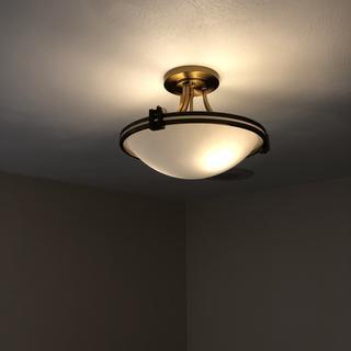 Walk in closet  Beautiful lighting fixtures  Very pleased