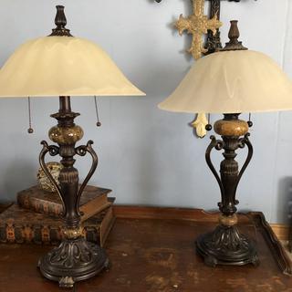 Both lamps