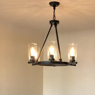 This vintage chandelier give off great lighting. We have received lots of compliments!