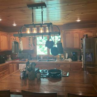 Our cabin kitchen