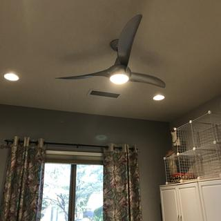I love my fan with the light in my craft room!