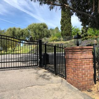Long Awaited gate light