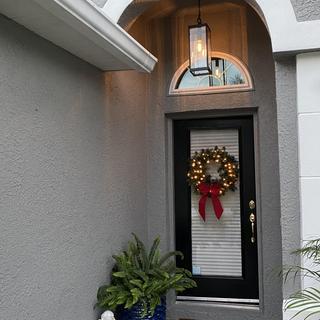 Front at Christmas