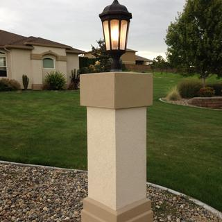 Kichler Courtyard Post Light - Bronze finish