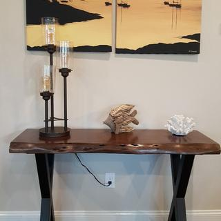 This lamp is beautiful!  It arrived well packaged & in great condition. Highly recommend.