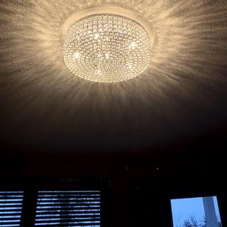 Stunning! Love the light patterns it casts on the ceiling.