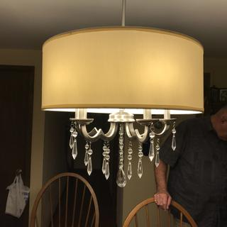 Georgiana 20 Quot Wide White Shade Chandelier 6d272 Lamps