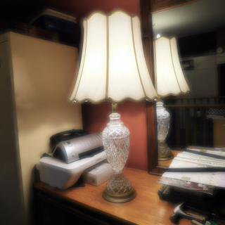 The lamp looks so nice now.