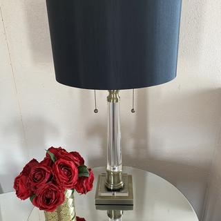Beautiful lamp, so happy i took a chance on it...really brings out a room. Definitely recommend this