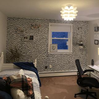 Lights up a big bedroom quite well!