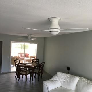 If you could figure out a ring system that would cover gaps in uneven ceilings it would be great.