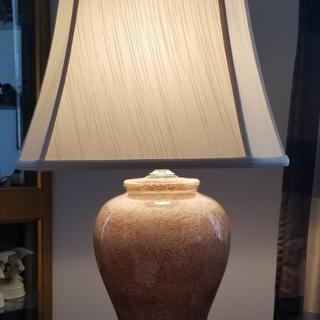 This lampshade is just the right size for the lamp. Really pleased!