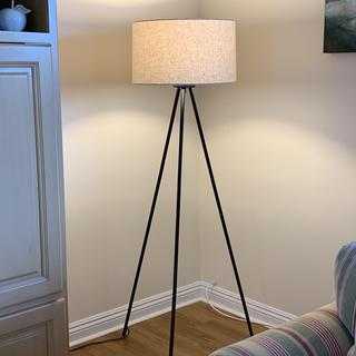 Very nice lamp. Probably best placed in a low traffic spot. Very happy with my purchase.