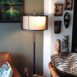 This lamp is perfect in the living room.