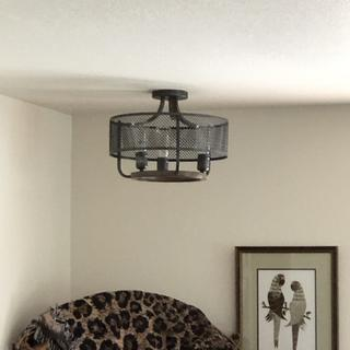 Looks great in our tv room with the many brown & black accents!