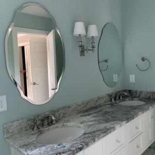 Perfect for a double sink vanity