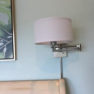 Perfect bedside lighting - and it is dimmable!