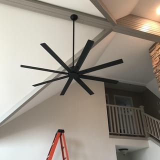 We love the fan! Looks and works great.  Excellent quality.