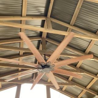 We love this Fan and we lamps plus .. install was easy .. product was great quality!!