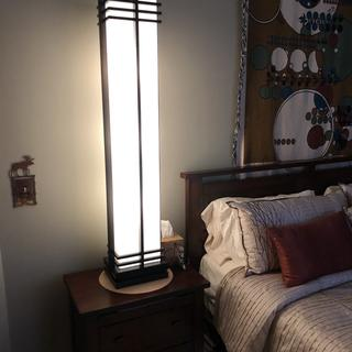 Used 2 of these as master bedroom lamps on end tables in vaulted ceiling.  Plenty of light.