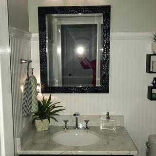 The perfect addition to my powder room update.
