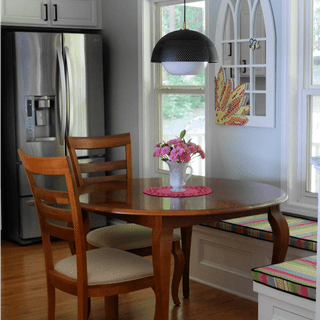 New Dining Area Pendant Light Fixture   @FanningSparks