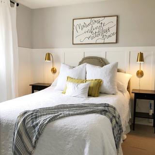 Master bedroom remodel.