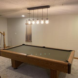 Nice pool table light
