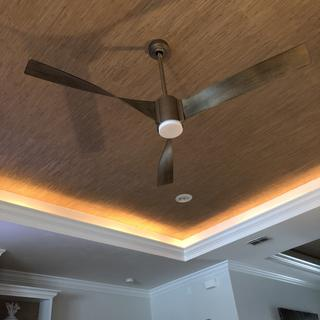 We upgraded our living room and the designers selected the fan. Very pleased