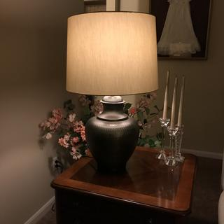 I love my new lamp; perfect for my living room :)