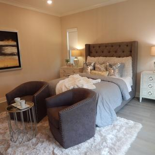Awesome oversized nightstand for the large bedroom