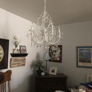 My very feminine office light off