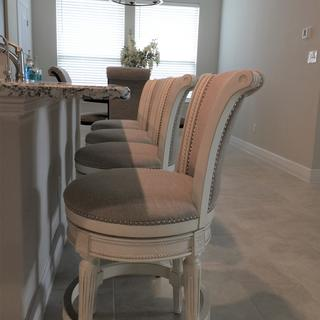 Beautiful chairs and very comfortable.