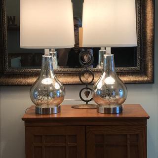 Pretty lamps.