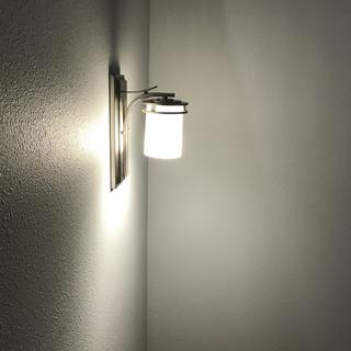 I used this on a stairway and had it mounted down so the light would be on the stairs