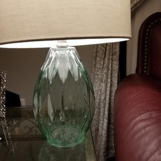 Rita Blue Green Glass Accent Table Lamp 1k747 Lamps Plus