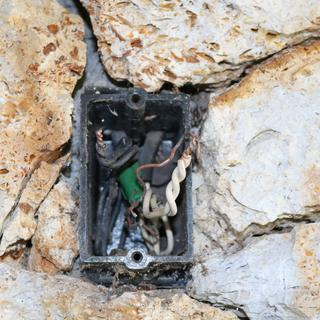 Standard junction box.
