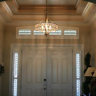 Front foyer chandelier